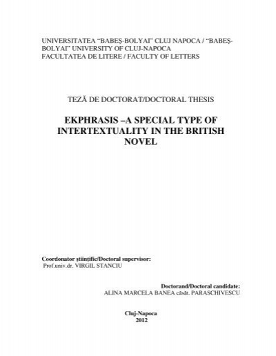 intertextuality doc Intertextuality: how texts rely on other texts 1  or words from one document or another part of the same doc-ument, are used in a new context, the earlier words are recontextualized.