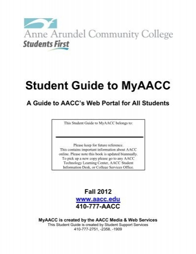 www myaacc login edu com
