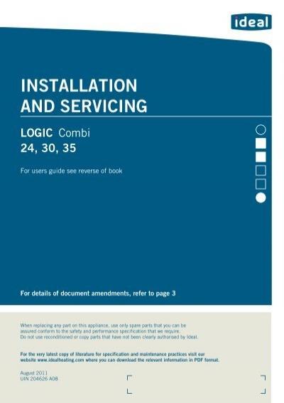 Logic Combi Manual - Ideal HeatingYumpu