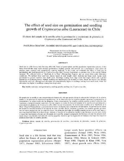 effect of salinity on seed germination pdf