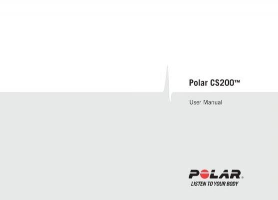 Manual cs200.