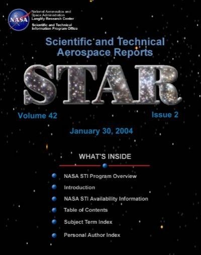 Nasa Sti Program In Profile