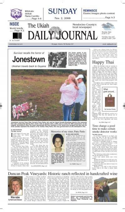 Ukiah Valley Christmas Effort 2021 Jonestown Extras For The Ukiah Daily Journal