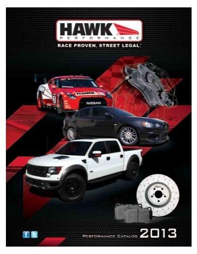 HAWK HB159W.492 DTC-30 Brake Pads Ford Escort 1997-2003 Mazda Protege 1995-1998