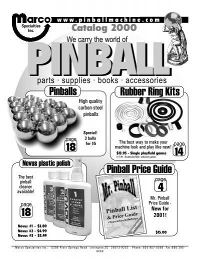 1960 Gottlieb Spot-A-Card pinball rubber ring kit