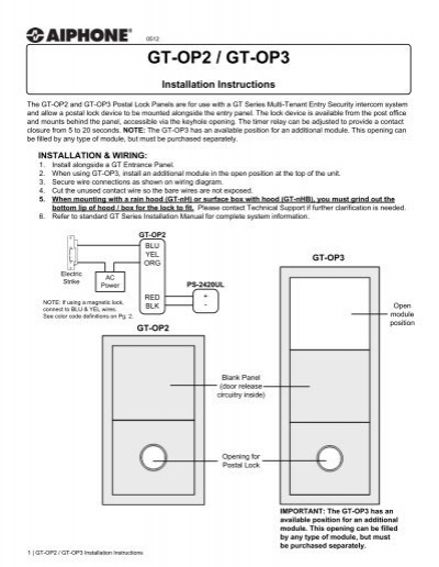WIRING DIAGRAM: PC Board on aiphone intercom systems, aiphone ry 2.4l, aiphone lem-1dl control door release,
