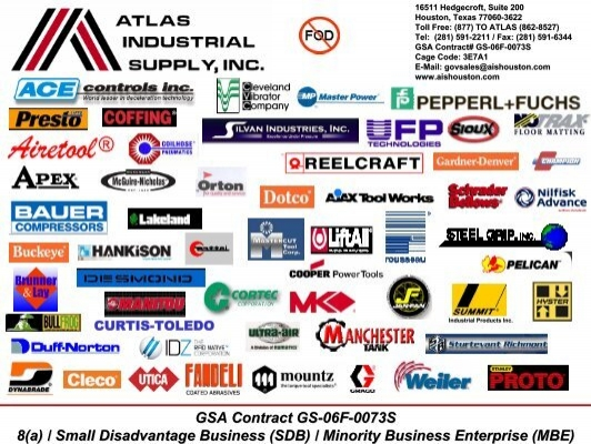 Government Product Line - Atlas Industrial Supply