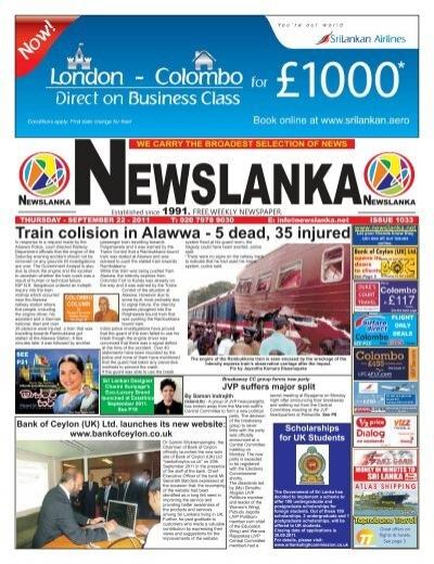Issue 1033 Newslanka