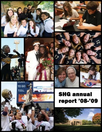 SHG Annual Report 08 09d Sacred Heart Griffin High School