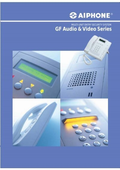 Aiphone GF-1DK Audio Only Tenant Station lot of 10.