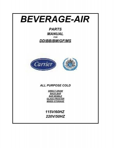 BEVERAGE AIR 317-004A Cap//Relay Assembly