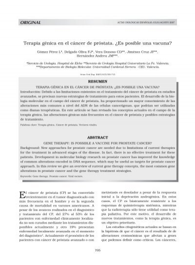 k terapia de próstata z y