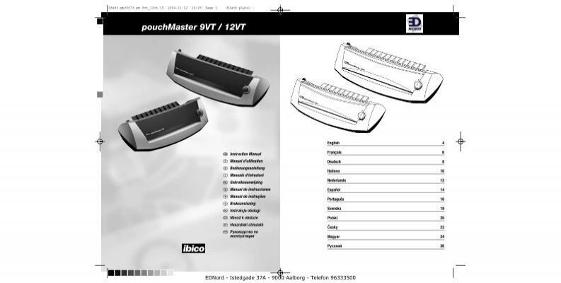 ibico laminator hl 9 manual