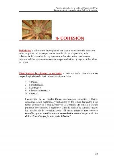 4 Cohesión Santa Rosa Altoaragón
