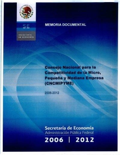 I Secretaría De Economía
