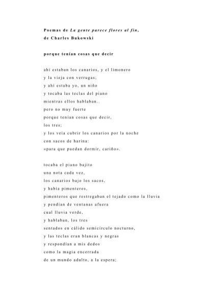 Poemas De La Gente Parece Flores Al Fin Eduardo Iriarte