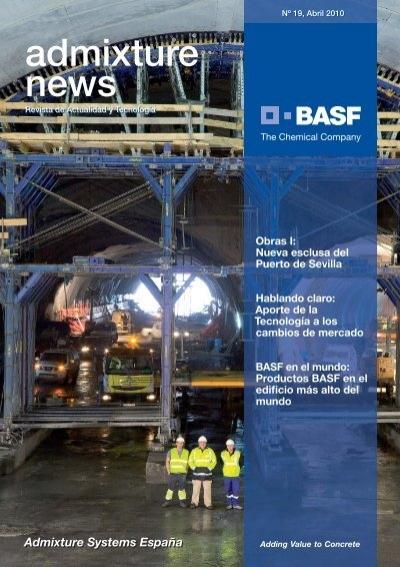 admixture news n abril basf chemicals espaa