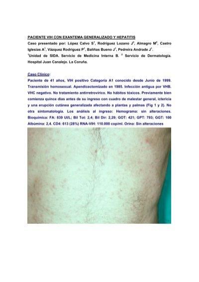 Hbctotal positivo a hbe - Liquido preseminal vih casos ...