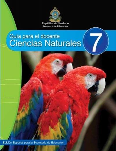 Ciencias Naturales Secretaría de Educación