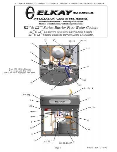 EZ & LZ Series Barrier-Free Water Coolers