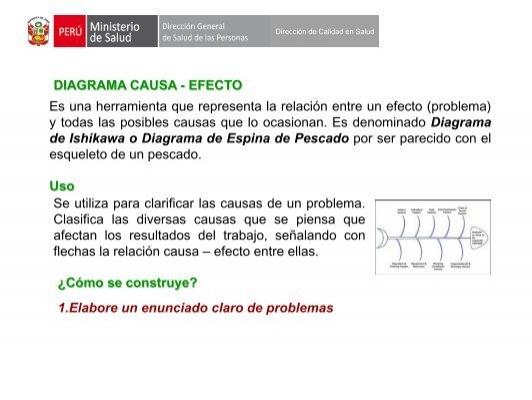 diagrama causa efecto Quinto Grado Causa Y Efecto
