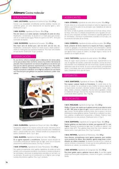 Alimara cocina molecular art gurmet for Gastronomia molecular pdf