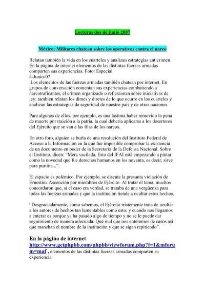 Lecturas dos de junio 2007.pdf - Insumisos