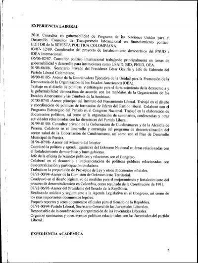 Juan fernando londo o osorio ministerio del interior y for Notificacion ministerio del interior