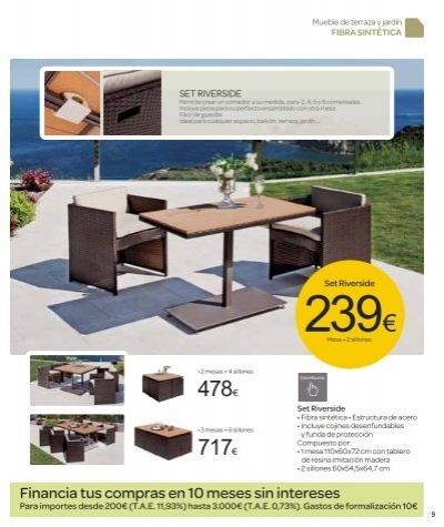 Mueble jardin carrefour dise os arquitect nicos for Zapateros baratos carrefour