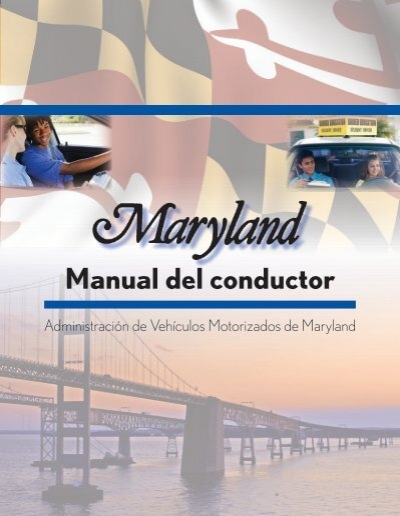 Manual del conductor maryland motor vehicle for Maryland motor vehicle administration