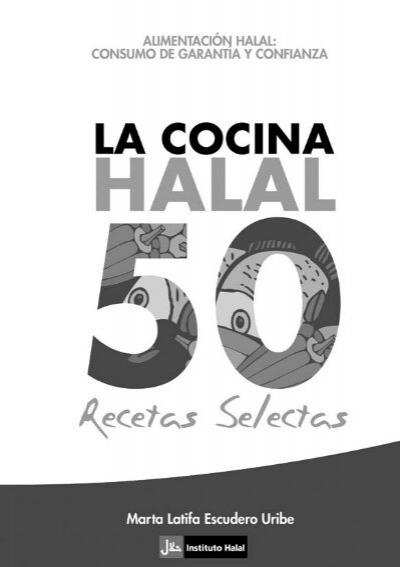 recetario halal2 - La Cocina Halal: 50 recetas selectas