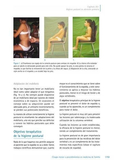 Higiene Postural Cómo Mejorar Nuestra Postura Clínica Internacional 511a2ae9f63f