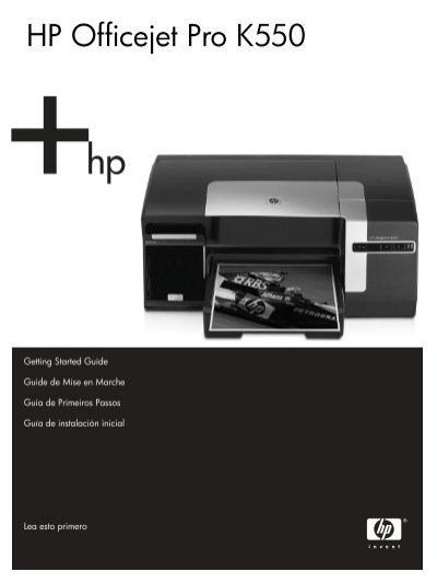hp officejet pro k550 rh yumpu com