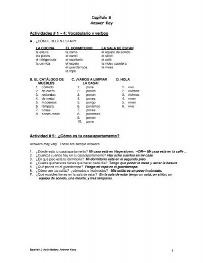 Vocabulario 2 capitulo 7 answers pdf