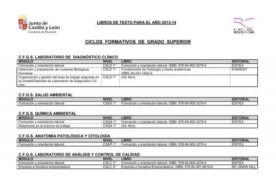 Ciclos Formativos De Grado Superior Ies Ramã N Y Cajal