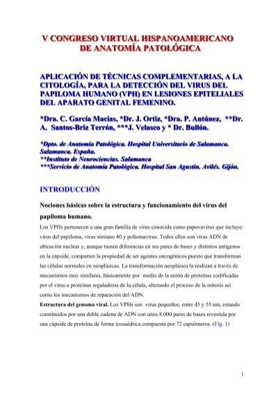 hpv - V Congreso Virtual Hispanoamericano de AnatomÃa Patológica