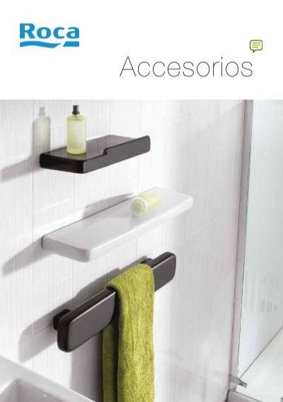 Accesorios de ba o roca cat logo venespa for Catalogo accesorios bano
