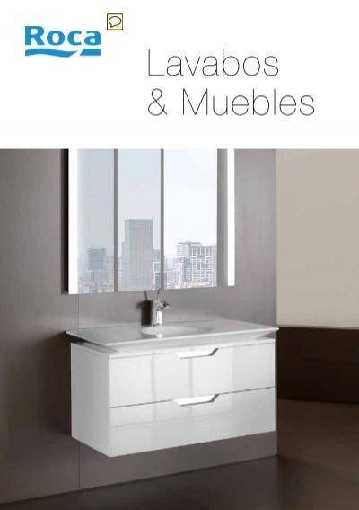 Lavabos cat logo roca de lavabos muebles de ba o y for Catalogo inodoros roca
