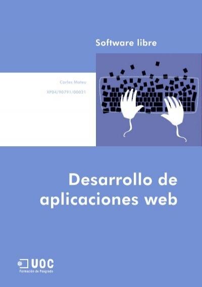 Desarrollo De Aplicaciones Web Pdf Sw Computaciã N Support