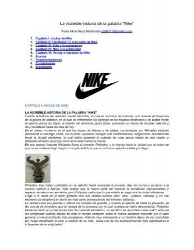 """China Desalentar dominar  La increíble historia de la palabra """"Nike"""" - BiblioMaster.com"""