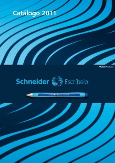 Marcadores universales permanentes Schneider Maxx 222 F color azul