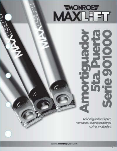 Monroe 901533 Max-Lift Gas Charged Lift Support