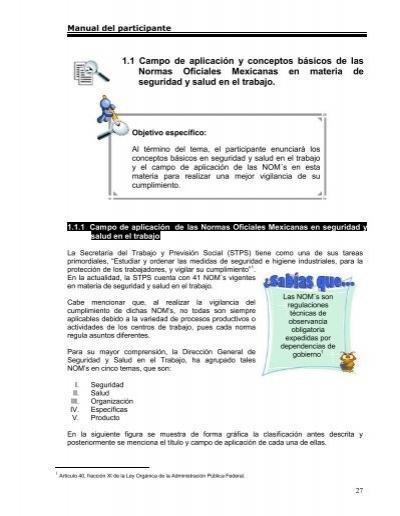 nom 030 stps 2006 pdf free