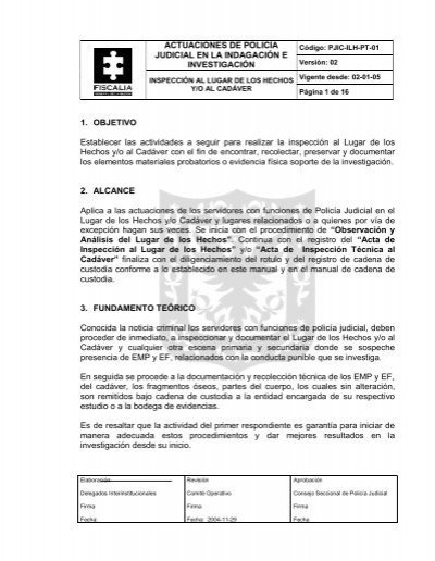 Manual policia judicial. Pdf criminalistica-odg.