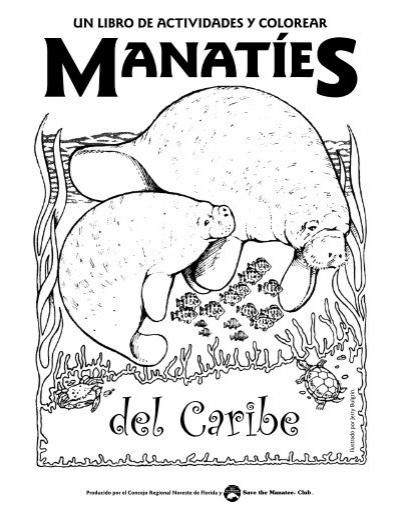 Un libro de actividades y colorear - Save the Manatee Club