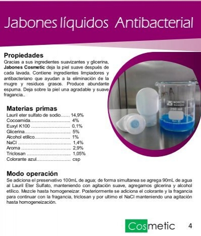 Jabones líquidos Antibac