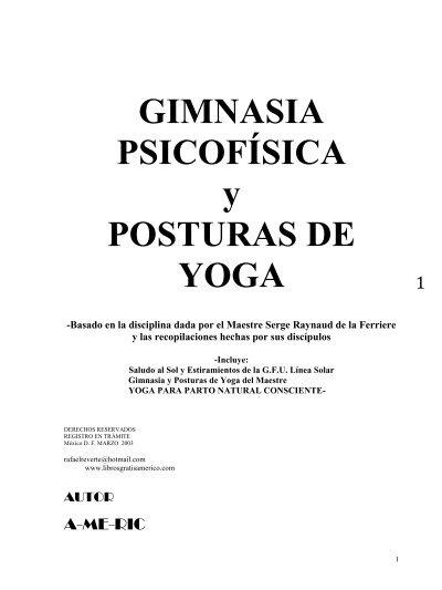Gimnasia Y Yoga Gfu Pdf