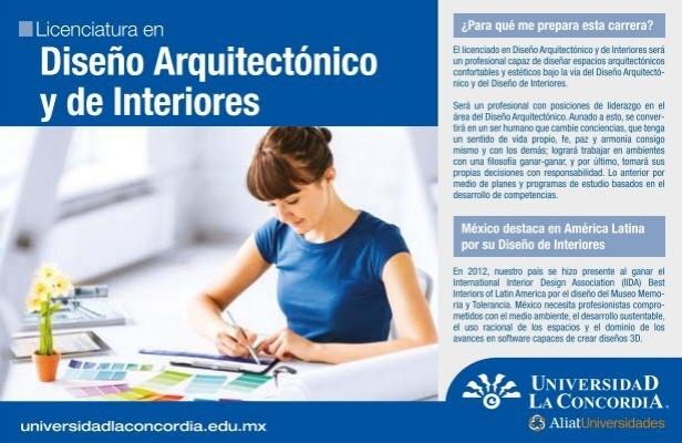 Dise o arquitect nico y de interiores universidad la for Diseno de interiores pdf