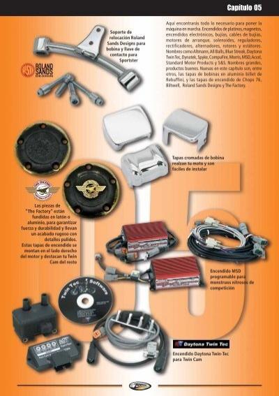 Separador De Cable De Bujia De Aluminio Billet Para Harley-Davidson®