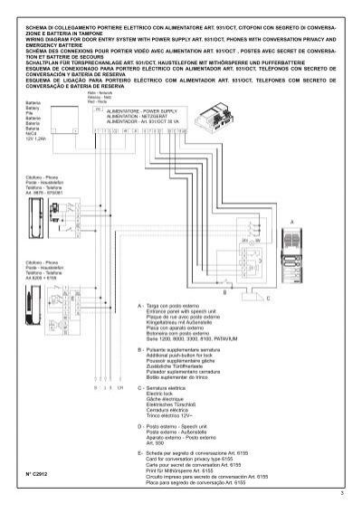 Schema Collegamento Elvox 131 : Schema di collegamento po